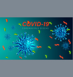 Covid19-19 background 3a vector