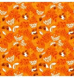 Fall season seamless pattern vector