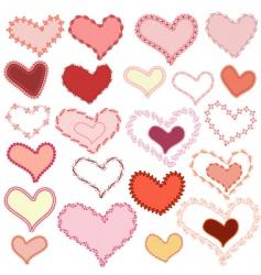 frame valentine vector image