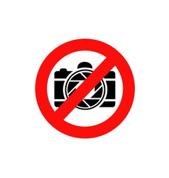 photography restricted vector image