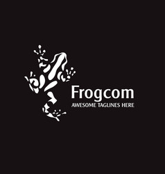 Poison frog vector