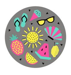 summer vector image vector image