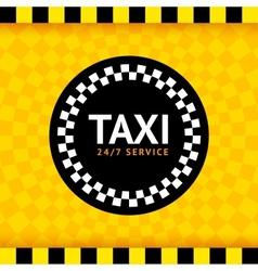 Taxi round symbol vector