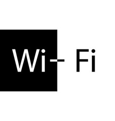 wifi icon wifi vector image