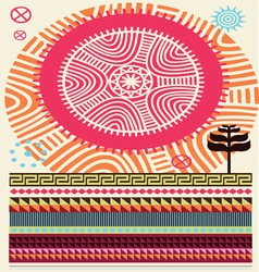 Africa colors vector
