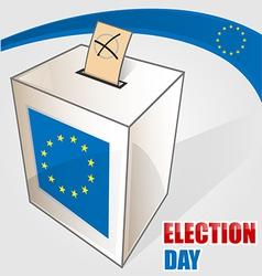 european election vector image vector image
