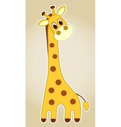 Giraffe application vector image