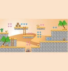 2d tileset platform game 28 vector