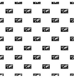 credit bank pattern seamless vector image