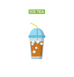 ise tea icon vector image