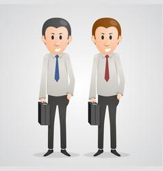 Office men vector