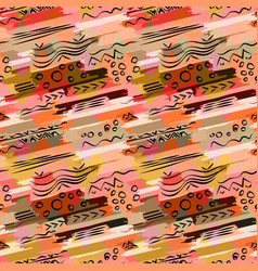 seamless repeating striped colored background of vector image