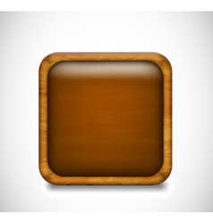Brown app icon vector