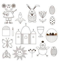 easter 2017-02 vector image