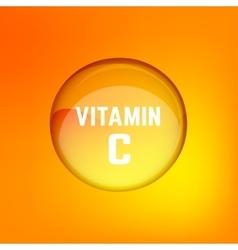 Vitamin C 02 A vector image