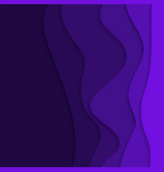 abstract background with curves and shadows vector image