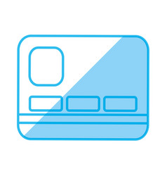 bank credit card vector image