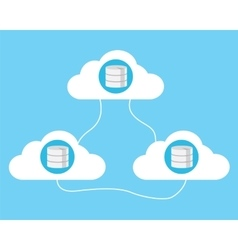 Cloud computing database vector
