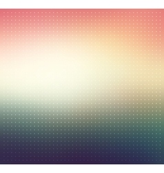 Colorful gradient Dotted background vector image