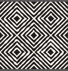 hand drawn striped seamless pattern with vector image