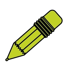 Isolated pencil design vector