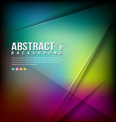 Colorful Abstract business background design vector image vector image