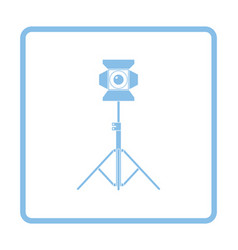 Stage projector icon vector image vector image