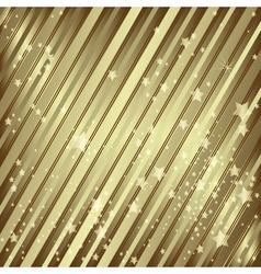 Golden holiday frame vector image