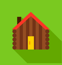 Hut object icon vector