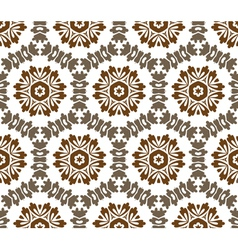 Vintage baroque pattern vector image