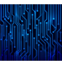 abstract circuit board vector image vector image