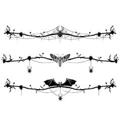 set of magic vignettes vector image vector image