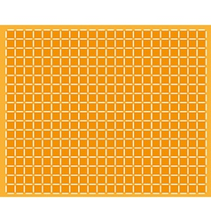Abstract orange background with squares vector