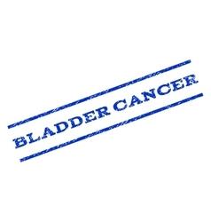 Bladder Cancer Watermark Stamp vector