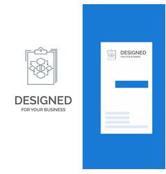 clipboard business diagram flow process work vector image