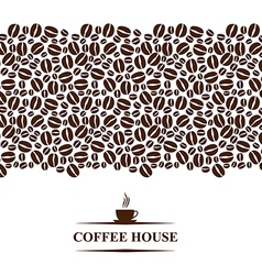 cofee horizontal vector image