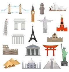 Countries world logo design template vector