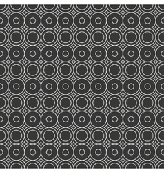 Geometric line monochrome abstract hipster vector image