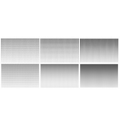 Halftone gradient pattern texture with dot vector