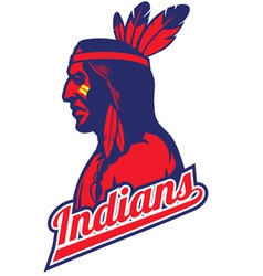 Indian tribe mascot vector
