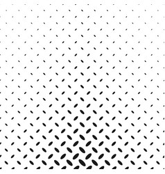 monochrome geometrical halftone diagonal ellipse vector image