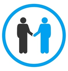 Person Handshake Icon vector