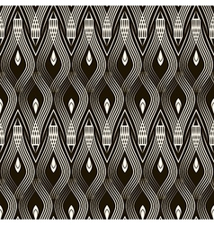 Seamless antique pattern ornament vector image