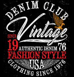 sport vintage graphic for t-shirt vector image