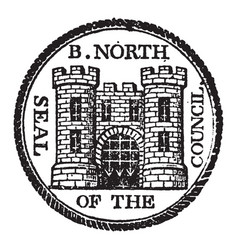 the seal of bridgenorth a parliamentary and vector image