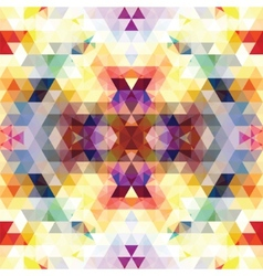 Triangular Mosaic Purple Background vector