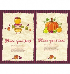 autumn grunge backgrounds vector image vector image