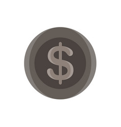 dollar sign icon money symbol finance currency vector image vector image