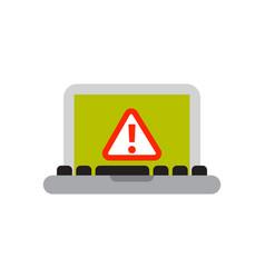 Desktop laptop technology equipment metal pc vector
