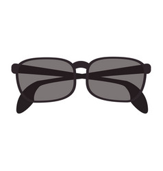 isolate sunglasses icon image vector image vector image